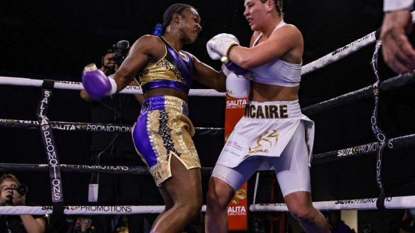 Claressa Shields Defeats Marie-Eve Diclaire